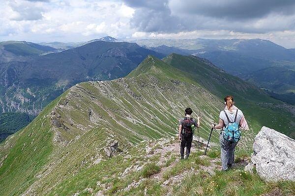Bosnia hiking near Sarajevo