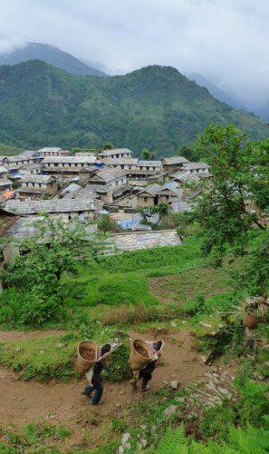 Trekking in Nepal - Ghandruk