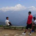 Poon Hil trek day 3 view
