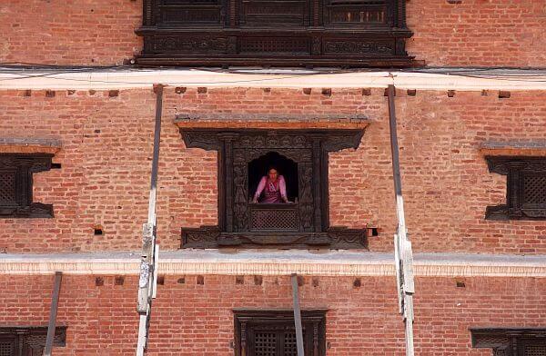 Bhaktapur Nepal 55 windows palace natinoal art gallery