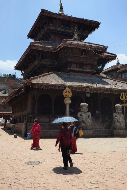 Dattatreya Temple on Dattatreya Square in Bhaktapur Nepal
