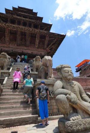 lakshmi temple Bhaktapur Nepal