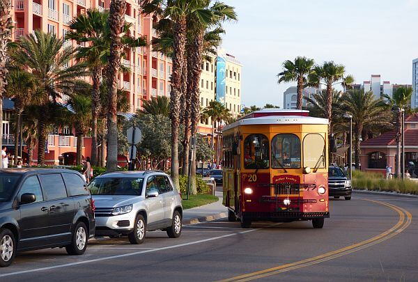 Clearwater Beach Jolly Trolley