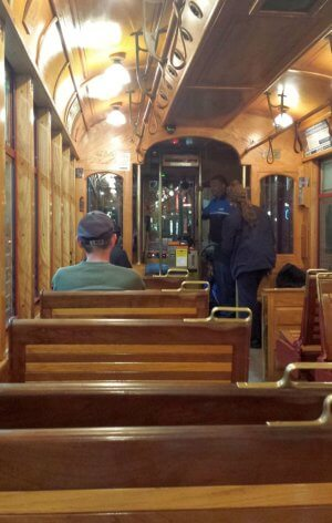 Tampa trolley downtown to Ybor City