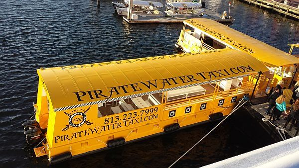 Tampa Pirate Water Taxi