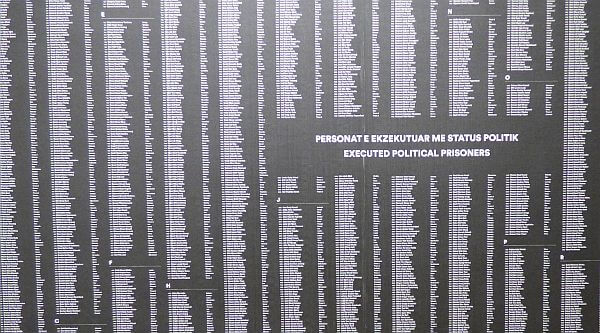 political executions under communism in Albania