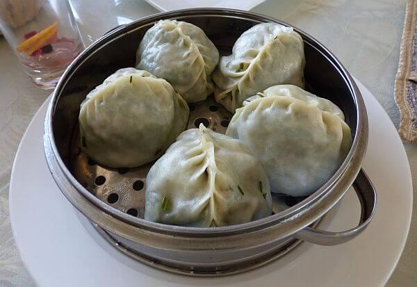 manty dumplings in Kyrgyzstan