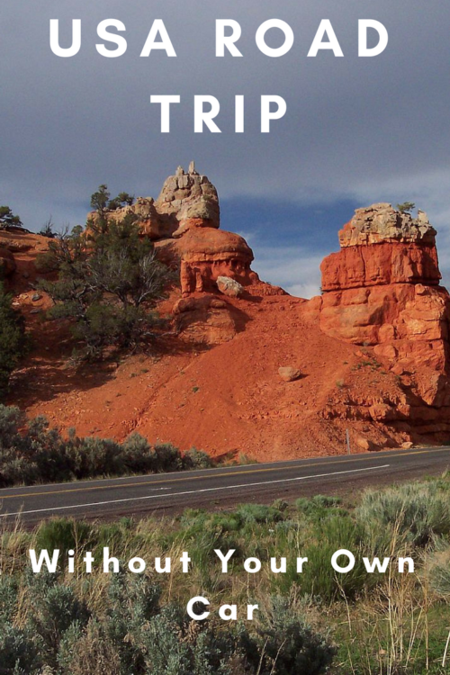 How to take a road trip in the USA without owning your own car
