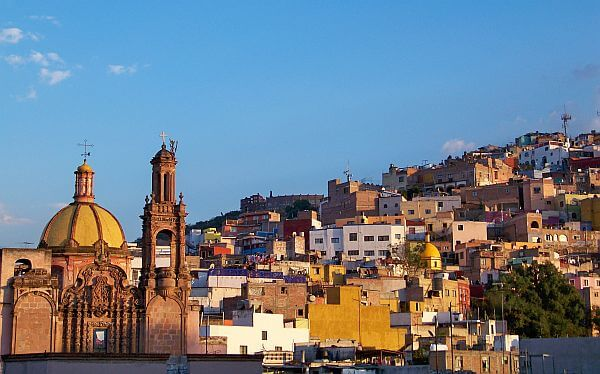 Guanajuato Mexico is much cheaper than resort areas