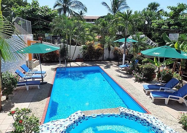 hotel with pool in Puerto Escondido