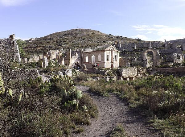 Real de Catorce ghost town Mexico