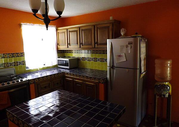 house in Guanajuato Mexico new kitchen work