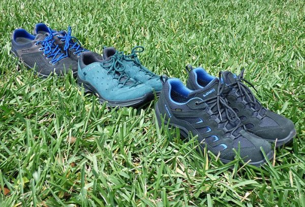 Lowa shoes for travel and hiking