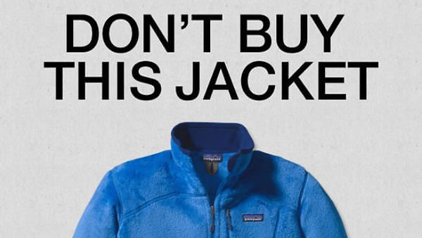Don't buy more clothing