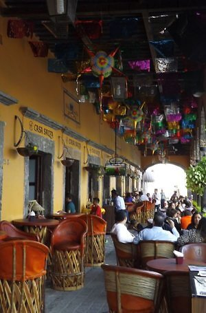 Magic Town of Tequila in Jalisco State, Mexico - home of the famous spirit