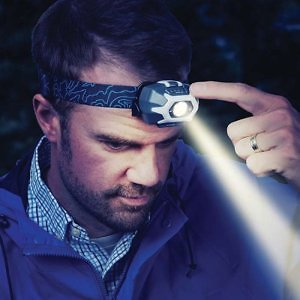 Nite Ize rechargeable headlamp for travelers