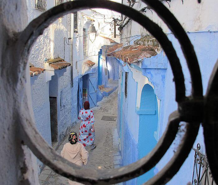 Chefchaouen houses Morocco