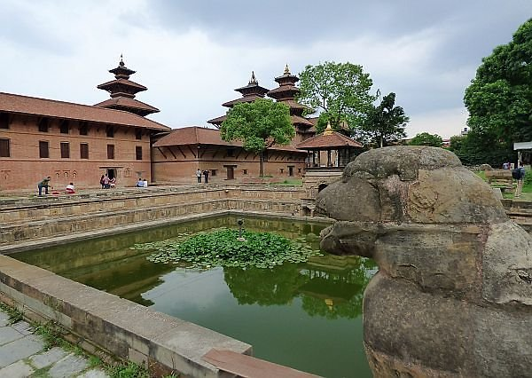 Bhandarkhal water pool area in Patan Kathmandu