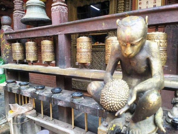 Golden Temple in Patan, Kathmandu, Nepal