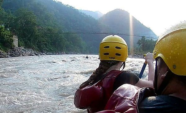 Trishuli River whitewater rafting Nepal from Kathmandu