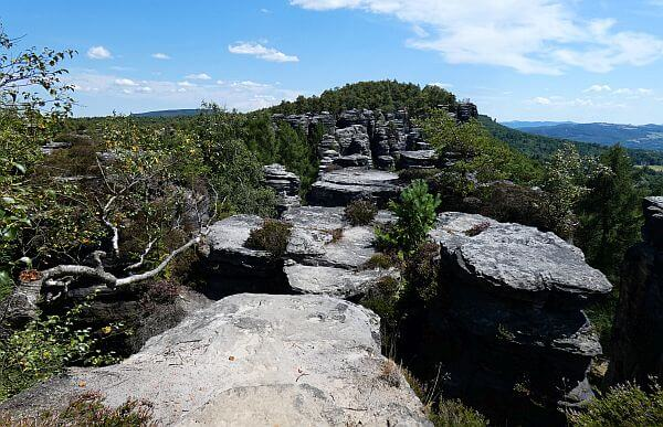 Bohemian Switzerland National Park in the Czech Republic