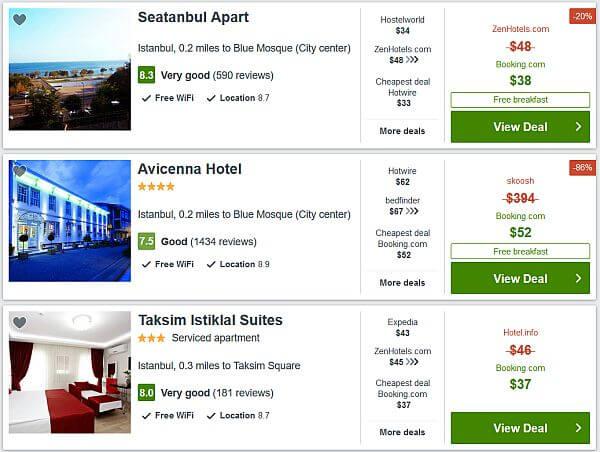 Hotel deals in Istanbul, Turkey