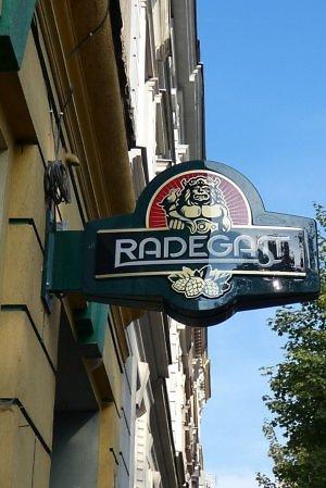 Radegast beer Czech Republic