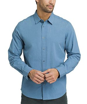 Prana long-sleeve shirt for business travel