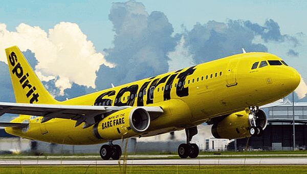 Spirit Airlines high baggage fees to take luggage