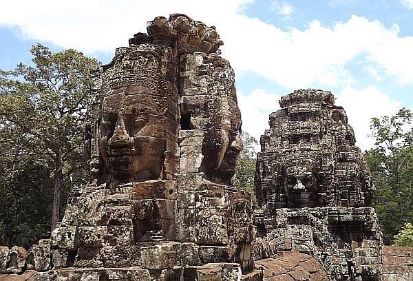 Angkor Wat wonder of the world in Cambodia