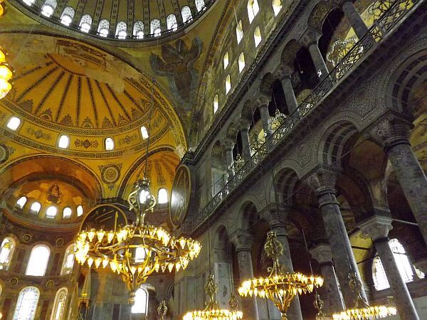 Hagia Sofia Istanbul wonder of the world