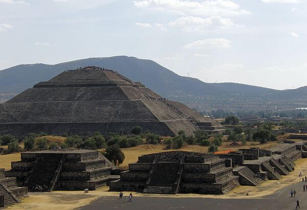 Teotihuacan near Mexico City, one of the world's greatest attractions