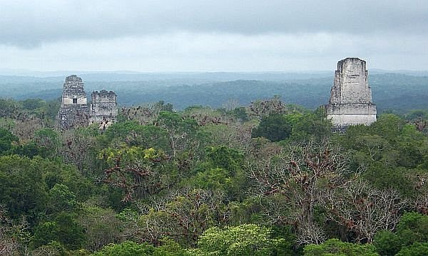 Tikal, one of the great wonders of the world