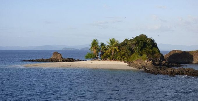 secret beach in Panama