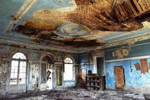 Abkhazia ruined building