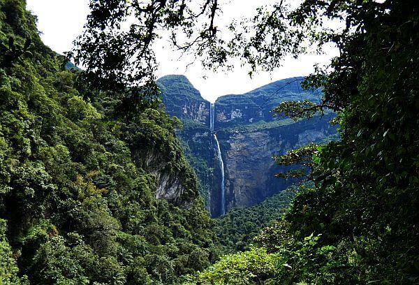 Gocta Waterfall Amazonas Peru