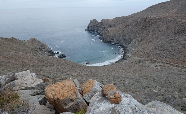 Todos Santos hike along the ocean