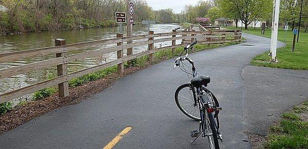 Erie Canal bike trail