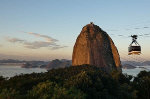 a trip to Sugarloaf Mountain in Brazil costs around $30