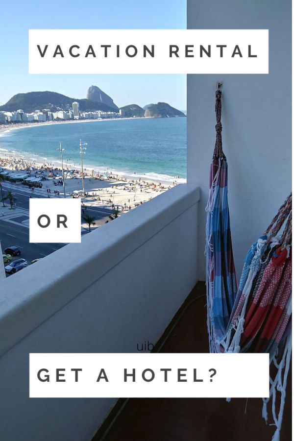 Should you choose a vacation apartment rental or just get a hotel room? It depends...