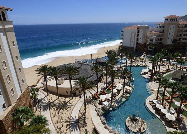 more amenities at a big resort