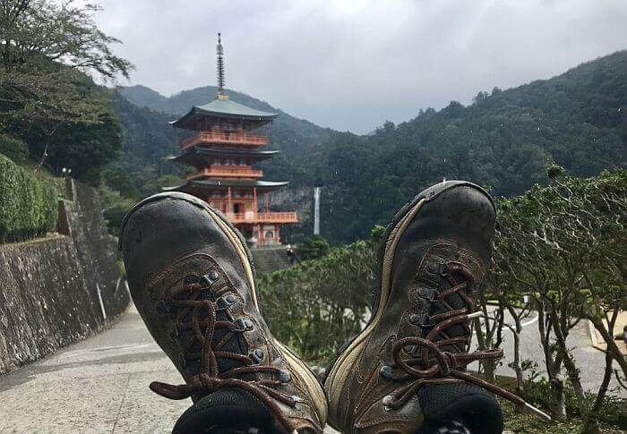 trekking in Japan temple route