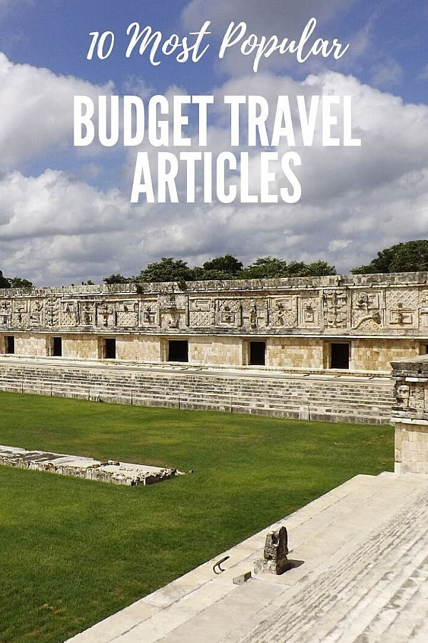 most popular budget travel articles of the year