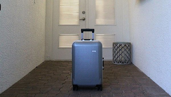 Rise luggage made in Canada