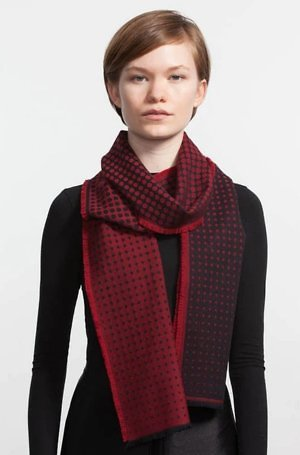 Made in Canada clothing from Canadian workers: String Theory scarves