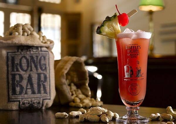 exotic cocktail Singapore Sling