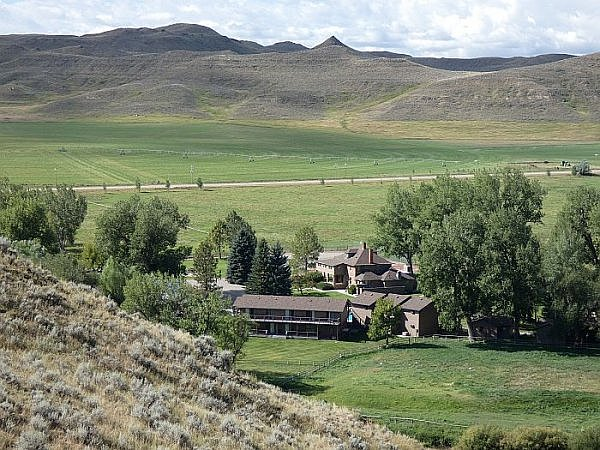 Ranch lodge in Wyoming