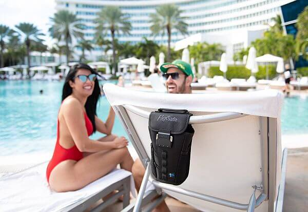 keep valuables safe at the pool