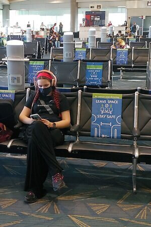 What's it like flying on Delta Airlines during a pandemic?