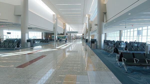 Atlanta international airport during Covid